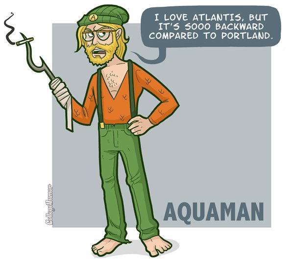 Hipster Aquaman