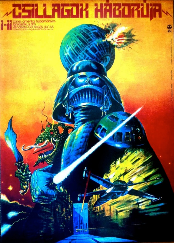 Star Wars Poster, Hungary