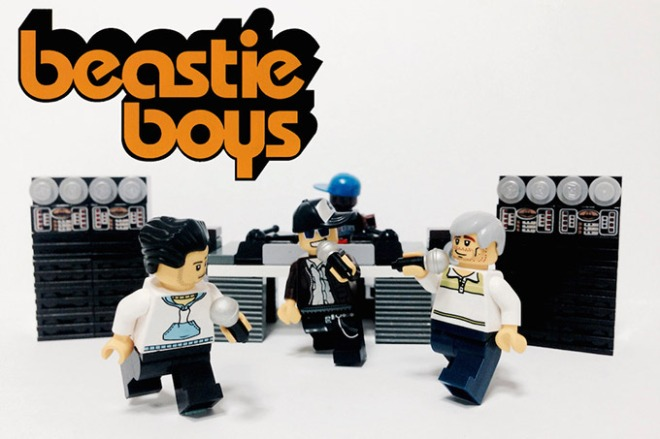 Beastie Boys Lego Mini-figs