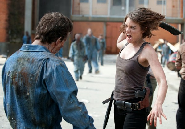 Lauren Cohan, Killing Zombies