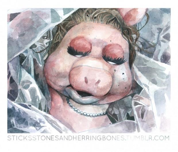Who killed Miss Piggy?