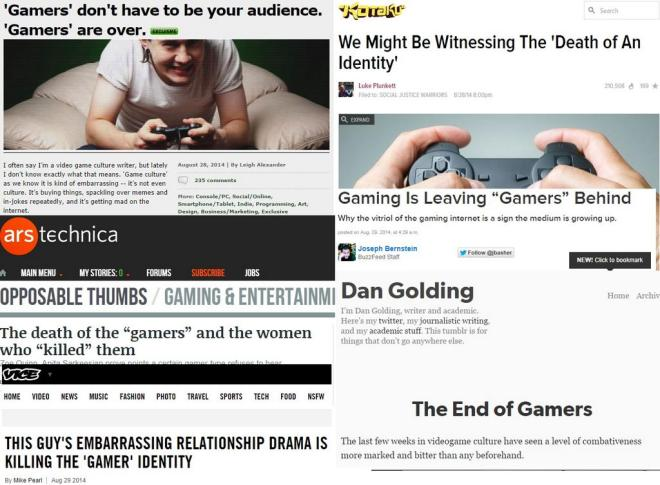 Death of gamers