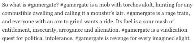gamergate is baad