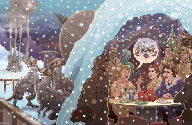 echo-base-hoth-hangar-wampa-wonderland-star-wars-christmas-card-pj-mcquade