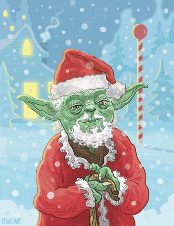 yoda-santa-claus-star-wars-christmas-card-pj-mcquade-1