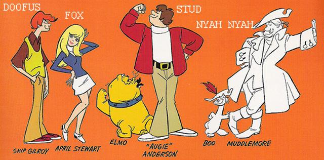 The Funky Phantom, a Scooby Doo clone.
