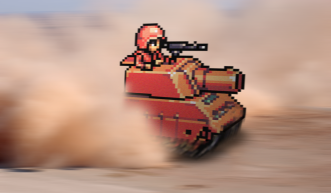 Retro_Tank___Advance_Wars___by_RETROnoob