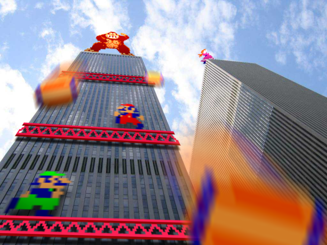 Retro_Tower___Donkey_Kong___by_RETROnoob