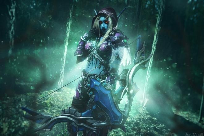 sylvanas_windrunner___banshee_queen_by_narga_lifestream-d89t1db