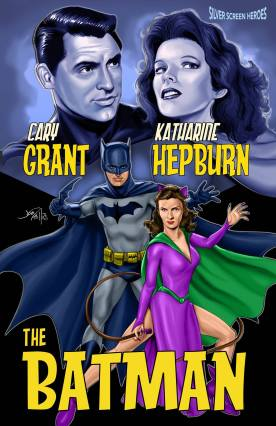 Cary Grant & Katharine Hepburn in The Batman