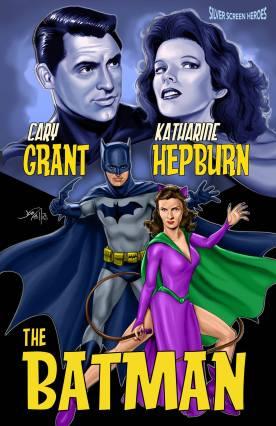 Cary Grant & Katharine Hepburn in The Batman