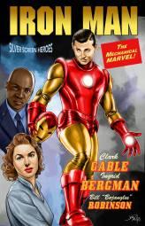 "Clark Gable, Ingrid Bergman, & Bill ""Bojangles"" Robinson in Iron Man"