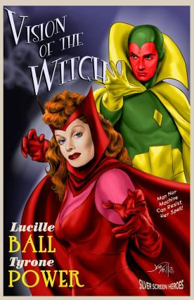 Lucille Ball & Tyrone Power in Vision of the Witch
