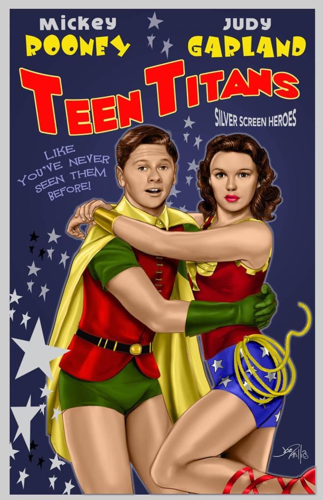 Mickey Rooney Judy Garland Teen Titans
