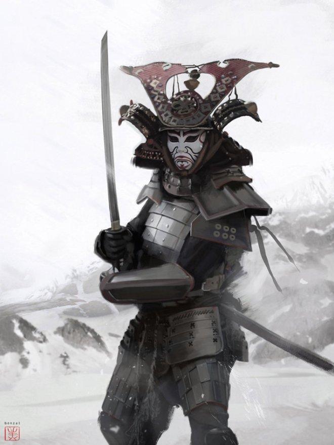david-benzal-asasins-samurai