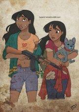 Nani, Lilo, and Stitch