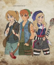 Peter, Wendy, and Alice
