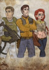 Woody, Buzz, and Jessie