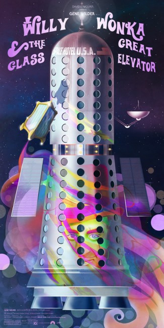 Willy Wonka & the Great Glass Elevator by Andy Fairhurst