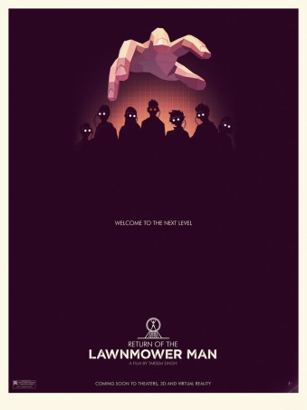 Return of the Lawnmower Man by Steve Courtney