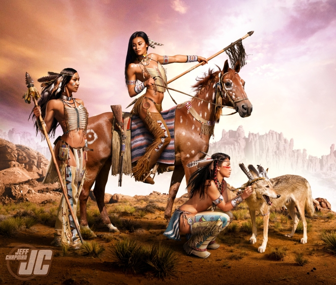 Native Warrior Women