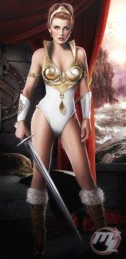 Teela, from He-Man and the Masters of the Universe